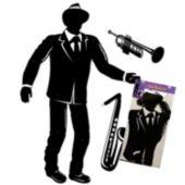 Jazz Musician Cutout