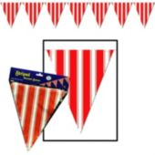 Striped Pennant Banner Decoration