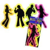 Retro Dancers Cutouts-4 Pack