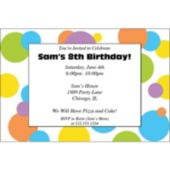 Street Circles  Personalized Invitations