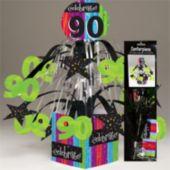 "90 Rainbow Celebration Centerpiece-13 1/2"""