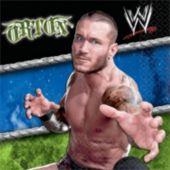 WWE Beverage Napkins - 16 Pack