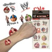 WWE Temporary Tattoos - 16 Pack