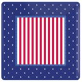 "Stars & Stripes 10"" Plates - 8 Per Unit"