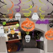 Halloween Swirl Decorations-30 Pack