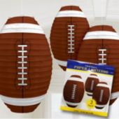 Football Paper Lantern-3 Pack