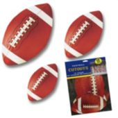 Football Cutouts-12 Pack