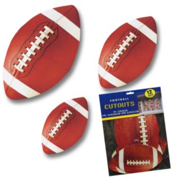 Football Cutouts  Value Pack