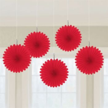 Red Mini  Hanging Fans