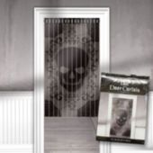 Skull Lace Door Curtain