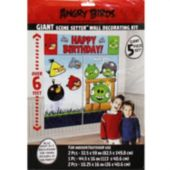 Angry Birds Birthday Wall Decorating Kit