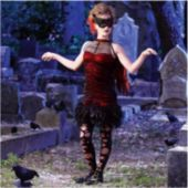 Raven Child Costume
