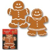 Gingerbread Cutouts-2 Per Unit