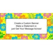 Retro Flowers - Custom Banner