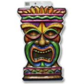 Tiki Idol 2D Wall Decoration