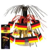 German Flag Cascade Centerpiece-7 1/2""