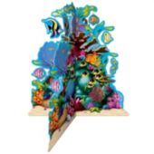 Coral Reef Centerpiece-10""