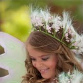Spring Fairy Child Hair Garland