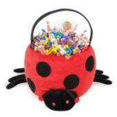 Ladybug Plush Basket