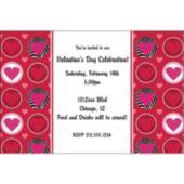Wild Hearts Personalized Invitations