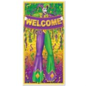 Mardi Gras Jester Door Cover