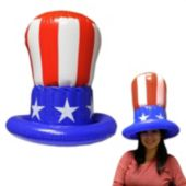 Uncle Sam Inflatable Top Hat