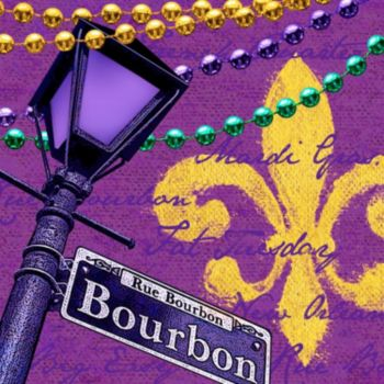 Bourbon Street  Lunch Napkins
