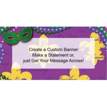 Bourbon Street Custom Banner