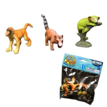 Rainforest Animal  Plastic Figures