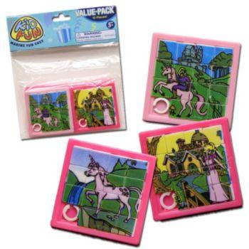 Princess Slide Puzzles