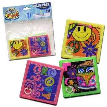 Retro Slide Puzzles