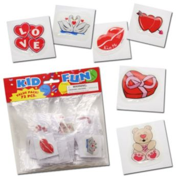 Valentine's Day  Puffy Stickers