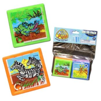 Animal Slide Puzzles