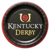"Kentucky Derby 9"" Plates - 8 Pack"