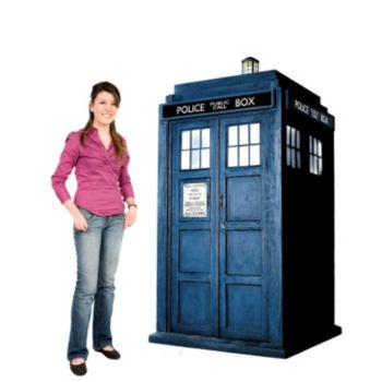 TARDIS Dr. Who Cardboard Stand Up
