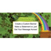 Luck Of The Irish Custom Banner
