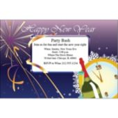 New Years Celebration  Personalized Invitations