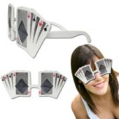 Playing Card Glasses - 12 Pack