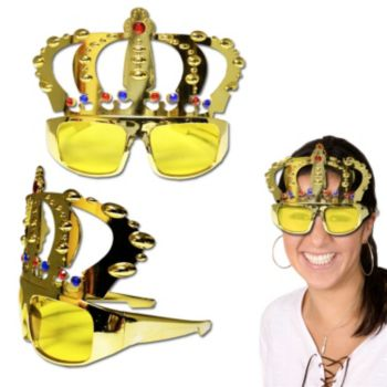 Jeweled Crown Sunglasses