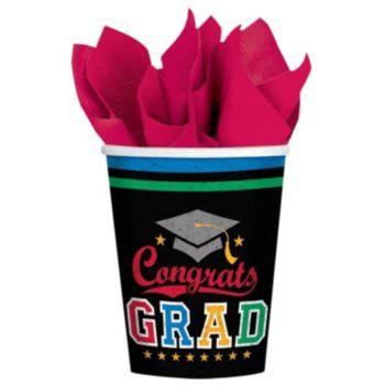 Congrats Graduate   9oz Cups