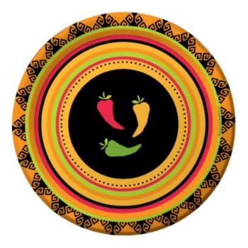 "Fiesta Grande  7"" Plates"