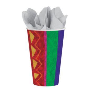 Festive Fiesta  12 oz. Cups