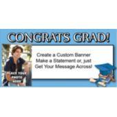 Super Star Graduate Custom Photo Banner