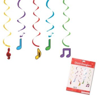 Musical Memories  Music Note Danglers