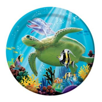 "Under the Sea  7"" Plates"
