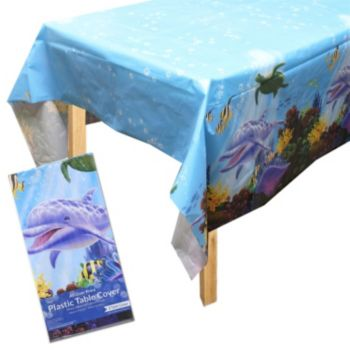 Under the Sea Plastic Table Cover