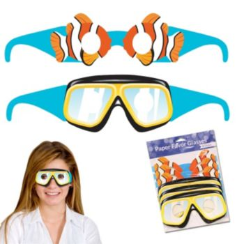 Under the Sea  Paper Eyeglasses