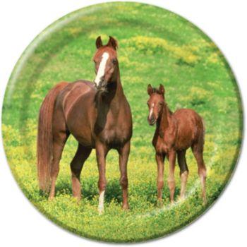 "Horses 8 34"" Plates"