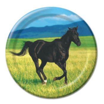 "Horses 7"" Plates"