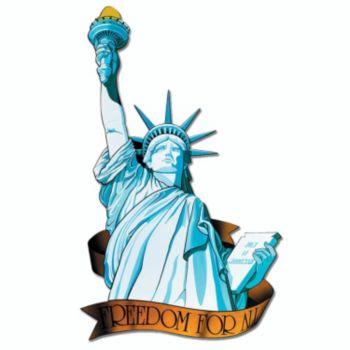 Miss Liberty Cutout